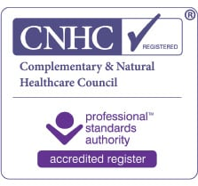 Complementary & Natural Health Care Council registration logo