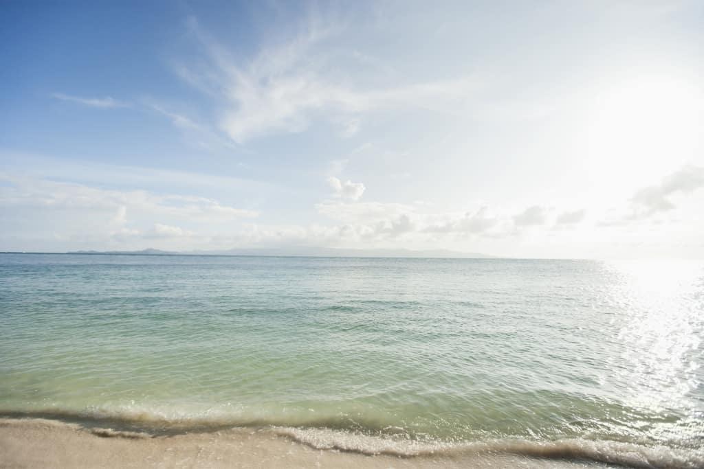 Rewind Trauma Therapy imagine of a calm sea